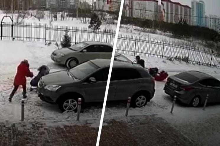 В Новосибирске будут судить водителя, который сбил мать с коляской из-за замечания о парковке