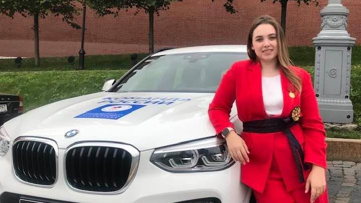 Чествовали в Кремле: призер Олимпиады из Ярославля получила ключи от новенькой BMW