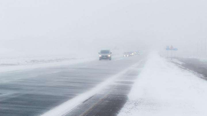 На трассе М-5 «Урал» в Самарской области ограничили движение