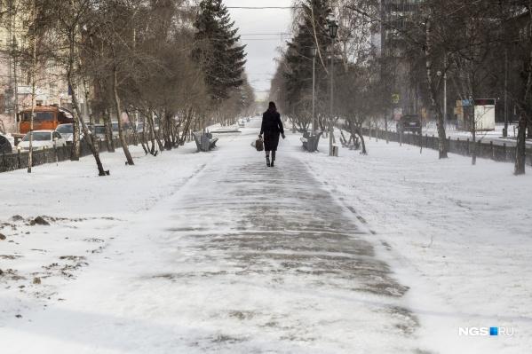 В конце марта синоптики обещают новосибирцам холодные ночи