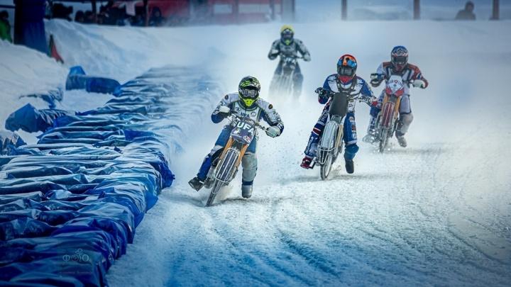 Уфимские мотогонщики достойно завершили гонки на стадионе «Строитель»