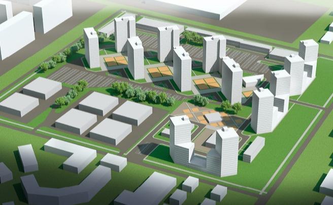 В Ленинском районе вместо заброшенного завода построят новый ЖК