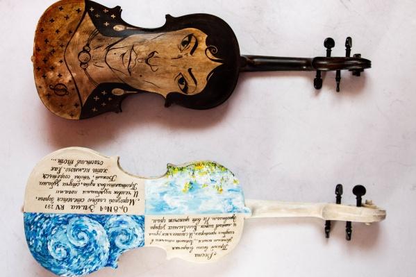 Сфотографироваться со скрипками можно будет в специально оформленной фотозоне в филармонии