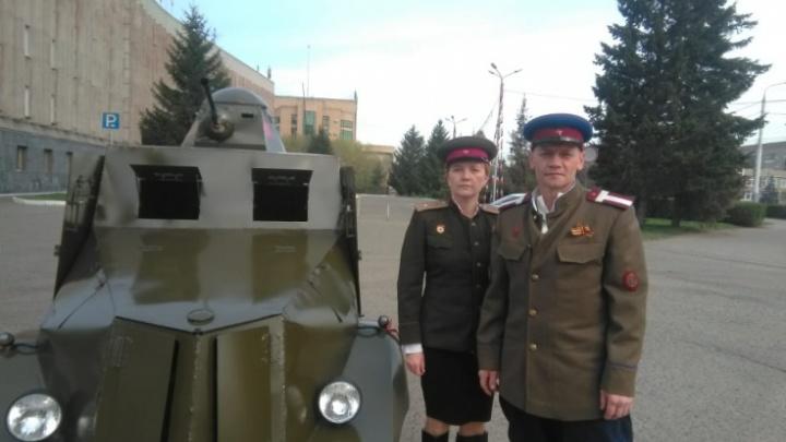 Самодельный броневик, сделанный в Омске из Ижа, выкупила киностудия