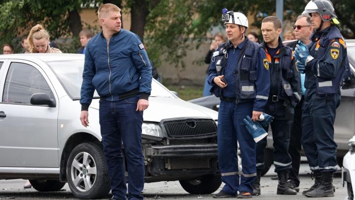 Устроивший ДТП с пятью машинами челябинец заявил, что был жертвой «лесопаркового маньяка»