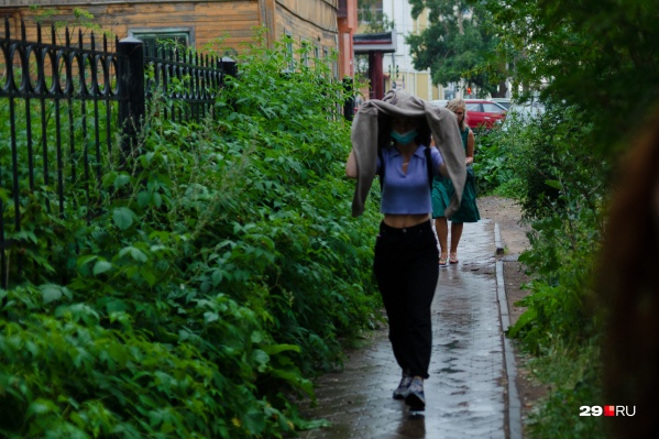 На выходных и в начале недели в области пройдут дожди