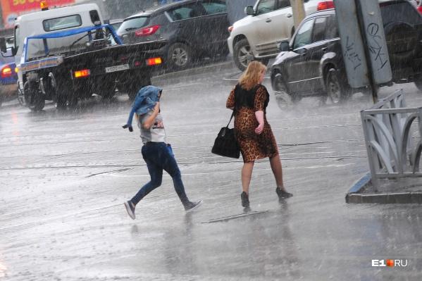 В дождливую погоду внимательными должны быть и водители, и пешеходы