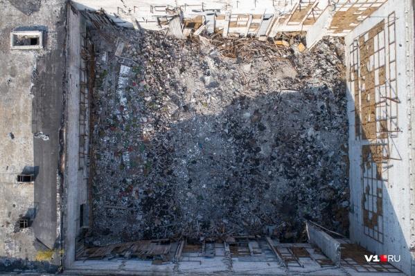 От популярнейшего кинотеатра остались лишь стены