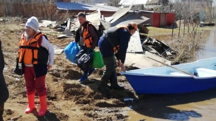 В Уфе затапливает Кооперативную поляну и Козарез, людей эвакуируют