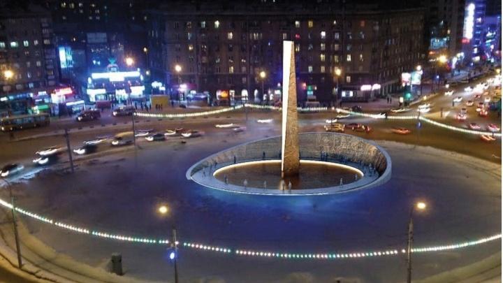 Глава омского Союза архитекторов выразил протест из-за места установки новой стелы. Посмотрите эскиз