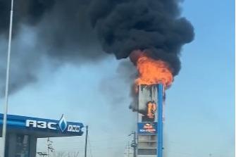 """Пожарные справились с возгоранием за <nobr class=""""_"""">6 минут</nobr>"""