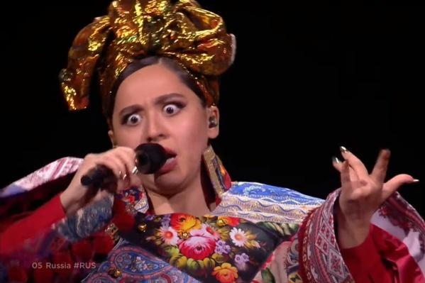 Выступление Манижи в финале конкурса