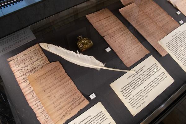 Указы царей Федора Иоанновича и Николая Первого экспонируются в музее Алабина