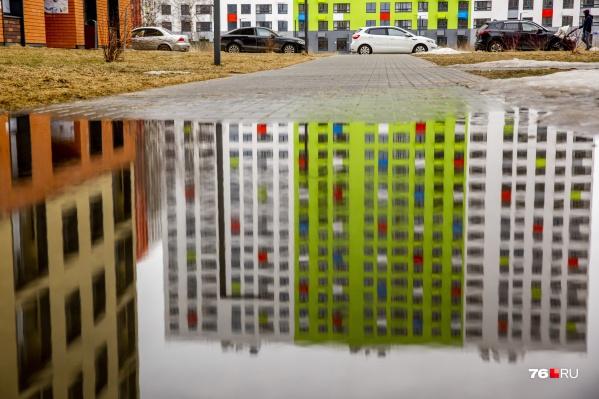 Яркие краски на Фрунзе