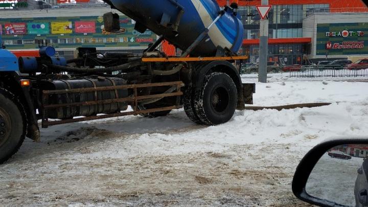 В Нижнем Новгороде произошла авария в канализации микрорайона Юг