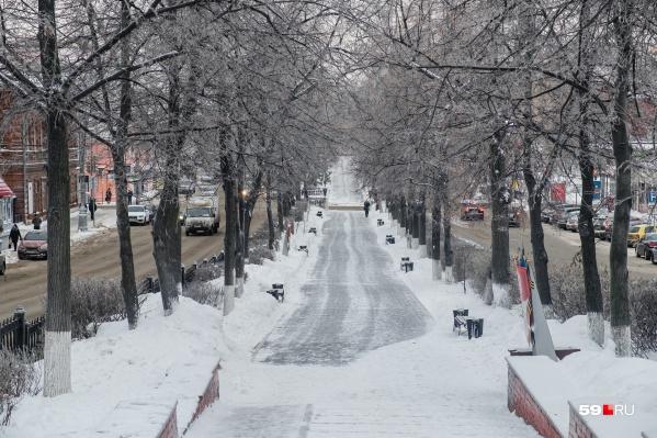 На календаре март, но погода в Пермском крае в ближайшие дни будет совсем не похожа на весеннюю