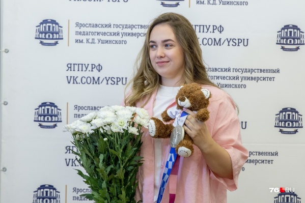 Анастасия Галашина привезла в Ярославль с Олимпиады в Токио серебряную медаль