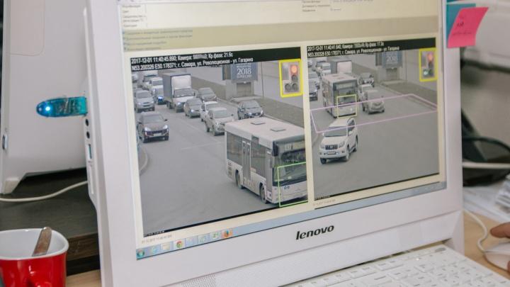 В Самарской области заменят старые камеры видеонаблюдения на дорогах