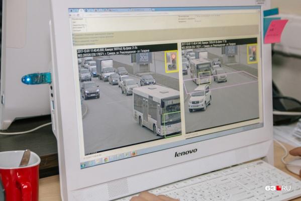 Комплексы будут фиксировать нарушения на перекрестках