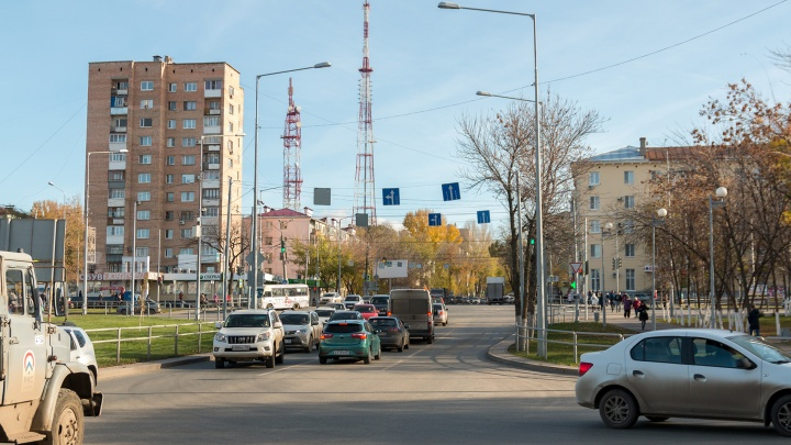В Самаре перекрыли еще один участок Ново-Садовой
