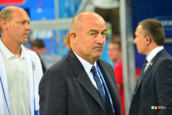 Станислав Черчесов возглавлял сборную России с августа 2016 года