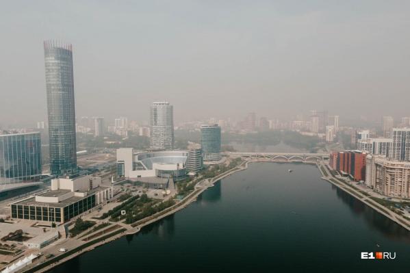Город плавится от жары, но совсем скоро она сменится прохладой