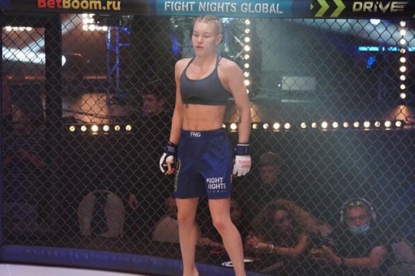 Виктория Дудакова одержала очередную победу