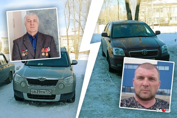 По словам ветерана-инвалида, молодой сосед попросил его переставить автомобиль с «персонального» места
