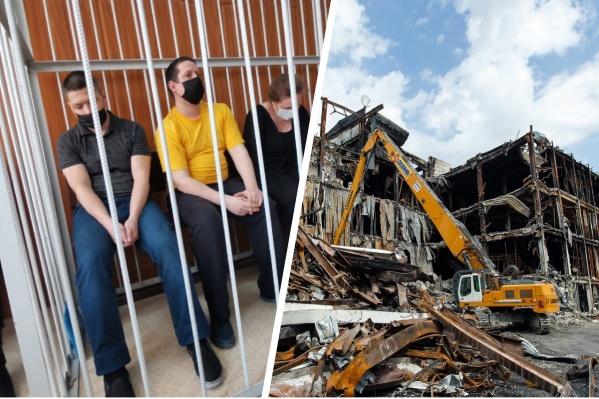 В черной футболке — Георгий Соболев, в желтой — Сергей Антюшин