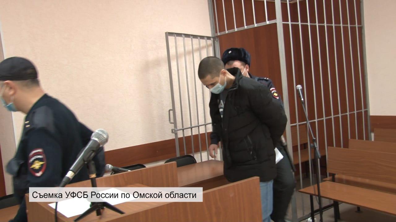 Усмановавзяли под стражу в зале суда