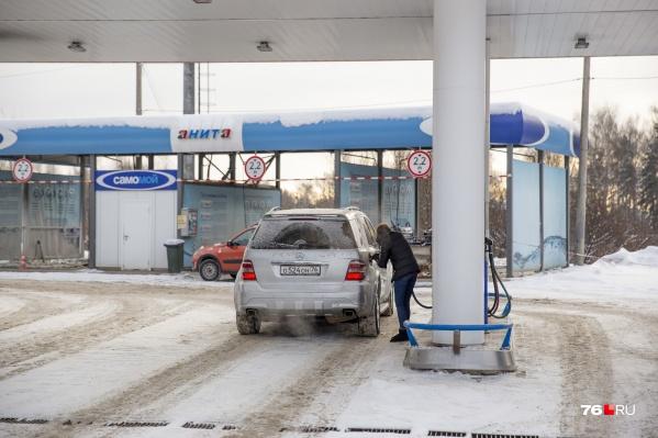 В городе подскочили цены на бензин