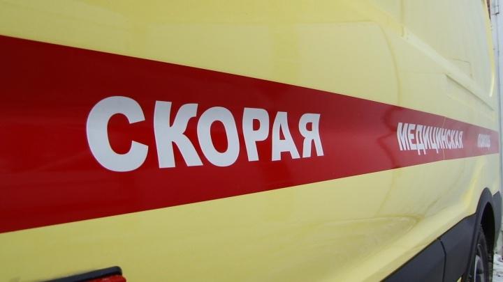 В Волгограде в аварии пострадал байкер