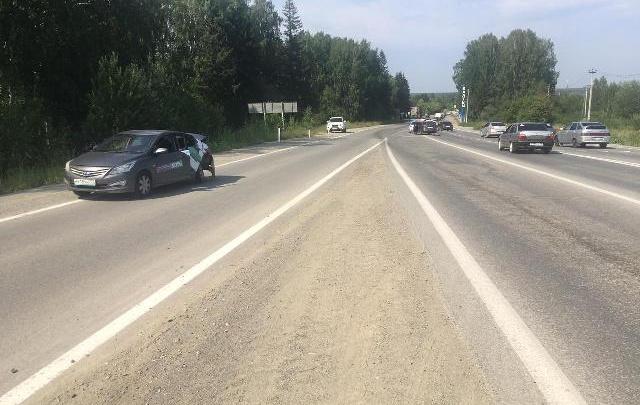 Восемь подростков на «Делимобиле» поехали купаться на Балтым и попали в аварию