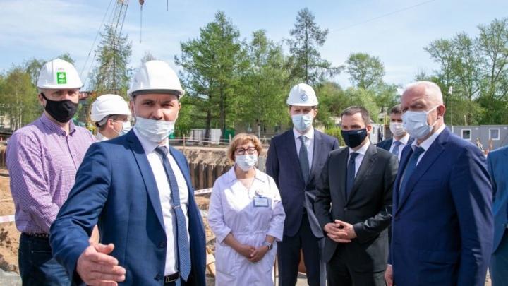 Новые школы и рост строительства жилья: чем в Архангельске интересовался полпред президента в СЗФО