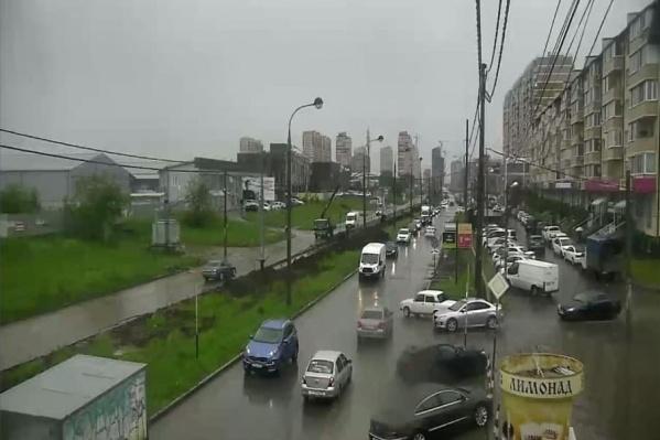 Дождь в Краснодаре закончится только к 06:00
