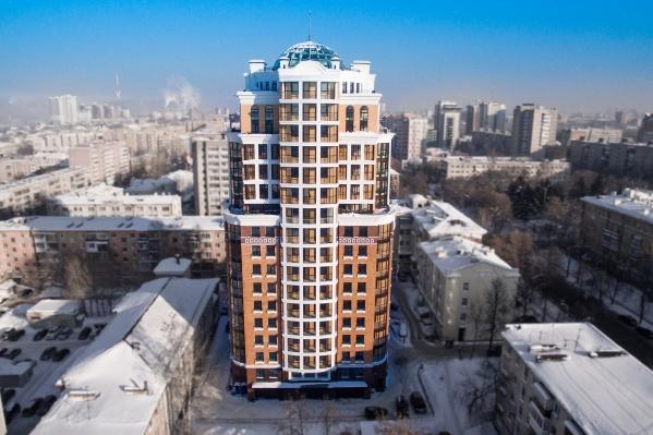 В этом красивом элитном доме в самом центре Перми теперь находится офис крайкома КПРФ