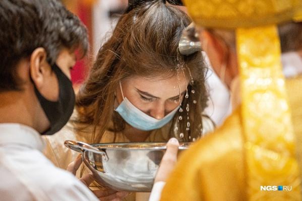 Богослужение прошло в католическом соборе на улице Максима Горького
