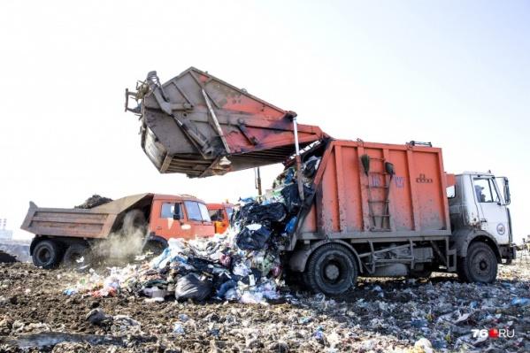 Тело женщины привез на станцию мусоровоз