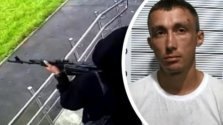 «Больше так не буду». Полиция обнародовала допрос парня с автоматом, перепугавшего жителей Мичуринского