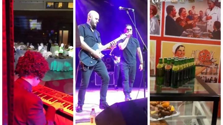 В Екатеринбурге на закрытой вечеринке в честь дня рождения владельца «Гринвича» выступили Trubetskoy и Федункив