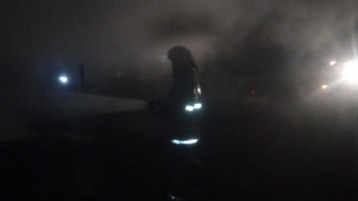 В Башкирии при пожаре погибли двое пожилых людей