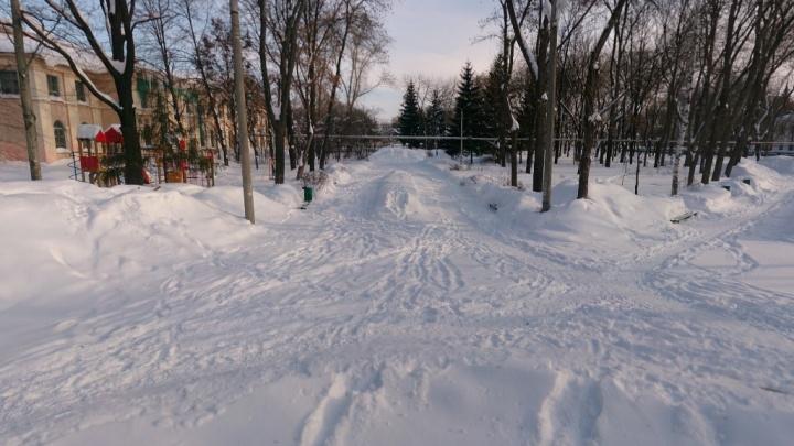 Власти Самары поделились эскизами нового сквера на Красной Глинке