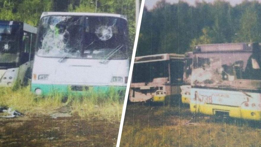 «Бил самокатом»: в Ярославле школьники разбили городские автобусы на полмиллиона рублей
