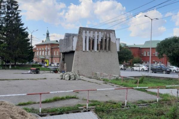 Вентшахта находится за остановкой «Театральная площадь»