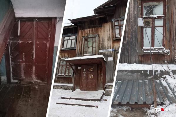 Жители дома сидели без горячей воды и отопления. Промерзли окна и стены