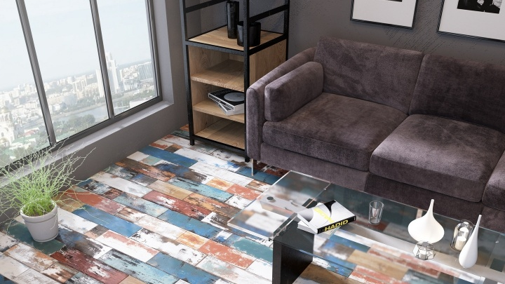 Плитка преобразит даже гостиную: керамогранит расширил возможности интерьера