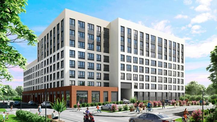 В микрорайоне ДКЖ стали активно строить новый семейный квартал