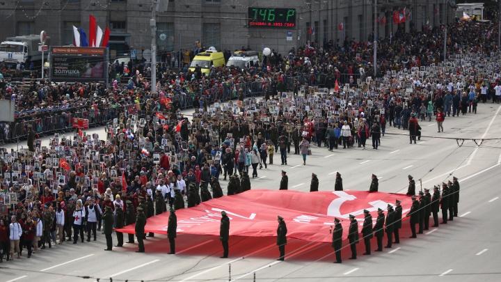 Новосибирск готовят к полноценному параду Победы со зрителями