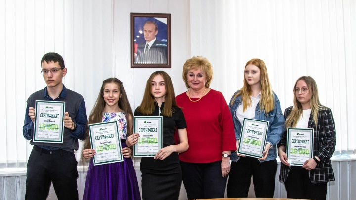 Стипендии для талантов: Группа «Илим» поддержала юных северян