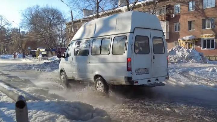 Стала известна причина прорыва трубы в поселке Зубчаниновка